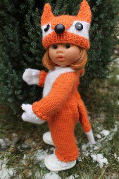 Tuto tenue renard pour Witchel 32cm