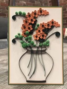 This handmade Floral Quilling Card is perfect for any occasion, whether a birthday or an anniversary. ♥Details about this Quilling Card♥ Comes with matching White Envelope. This quilling card is handmade by me with a turnaround time of 5-7 days. The card is blank on the inside for