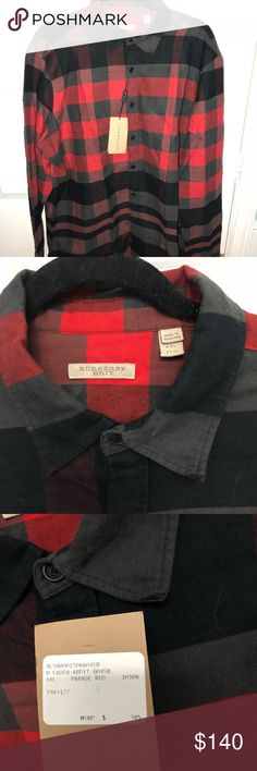 Burberry men's shirt Brand new with tags. Runs small. Burberry Shirts Casual Button Down Shirts