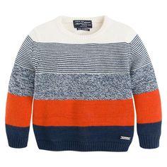 Childrens fashion, Baby clothing, Mayoral boys and girls Baby Boy Knitting Patterns, Baby Sweater Knitting Pattern, Knit Baby Sweaters, Knitting For Kids, Baby Knitting, Herren Winter, Angora, Kids Fashion Boy, Kind Mode