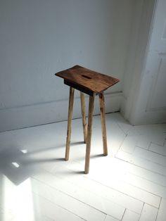 Handmade wooden workstool