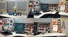 My Other Home: Personal cubicle decor