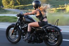Real Biker Babes — cafesportster:   Sportster Girl   Over 30,000 Real...