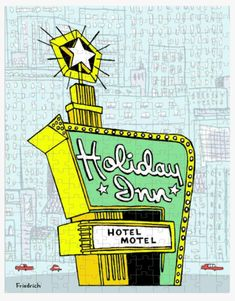 Vintage Hotels, Tv Trays, Stars Then And Now, Good Luck To You, Hotel Motel, Winter Time, Have Fun, Puzzle, Holiday