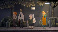 "Commercial Project: Bus. A ""commercial project"" film made by students at The Animation Workshop for renowned Danish music event Roskilde Festival. The brief: Make something that inspires the festival guests to put the Roskilde spirit of everything-goes resourcefulness to good use in the world at large.  http://www.animwork.dk/en/"