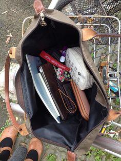 on my way school - School Purse, School Bags, School School, What In My Bag, What's In Your Bag, School Bag Organization, My Bags, Purses And Bags, Uni Bag