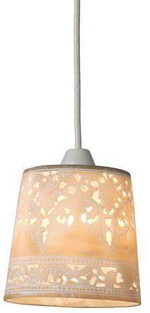 P レース柄_ペンダントライト(グレー/電球付き):北欧,シャビーシック&エレガント,グレー系,Home's Style(ホームズスタイル)の天井照明の画像