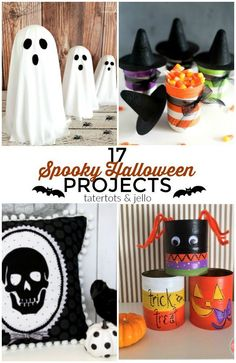 Great Ideas — 17 Spooky DIY Halloween Projects!