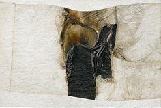 Alberto Burri, Bianco plastica BL 3 (1966)