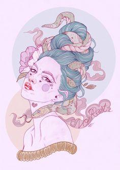 No Rest - Liz Clements Illustration