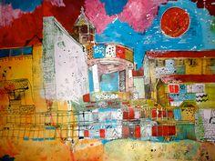 Christopher Tate Art - Cornwall Gallery | Christopher Tate Art | Cornish Artist Cornwall, Gallery, Illustration, Artist, Artwork, Painting, Work Of Art, Roof Rack, Auguste Rodin Artwork