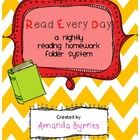 Are you looking for a way to get your students excited about reading in Kindergarten?  RED folders are for you!This is a great homework supplemen...