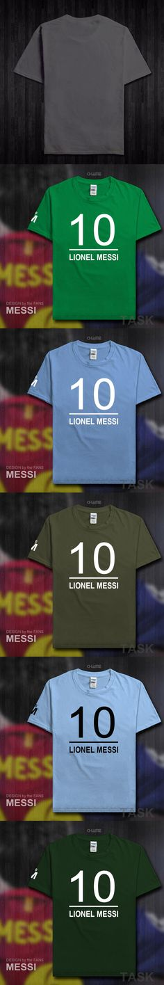2017 summer Barcelona MESSI drake Men's t-shirts casual fitness LEO brand clothing cotton Lionel streetwear tshirt homme Tops