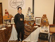 Chef Sabrina, Ambrosia Natural Bakery, at 2016 Oregon Chocolate Festival www.oregonchocolatefestival.com