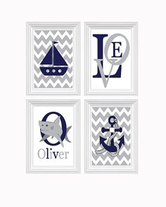 Boys Bedroom Decor Nautical Nursery