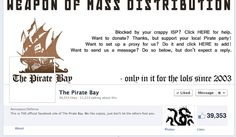Anonymous Called Out By The Pirate Bay For Its DDoS Attacks