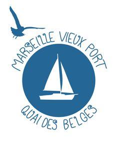 Marseille, Vieux Port / Quai des Belges