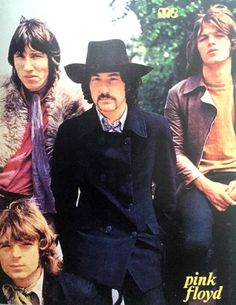 Pink Floyd appearing on the Dutch magazine MUZIEK EXPRESS, March 1968