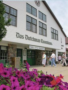 Das Dutchman Essenhaus in Middlebury, Indiana - one of our favorite restaurants . . . we ate inside an Amish buggy! The raspberry cream pie is to die for . . . and the date pudding? Not what you would think - try it!