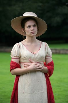Hayley Atwell, Mary Crawford - Mansfield Park directed by Iain B. MacDonald (TV Movie, 2007) #janeausten
