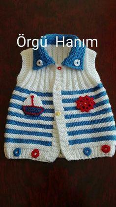 ayyyyy bu bebe örgülerine bittim - Netten Quote And Schema Models All . Baby Knitting Patterns, Baby Hats Knitting, Knitting For Kids, Baby Patterns, Free Knitting, Knitted Baby Cardigan, Knit Baby Sweaters, Knitted Baby Clothes, Crochet Quilt