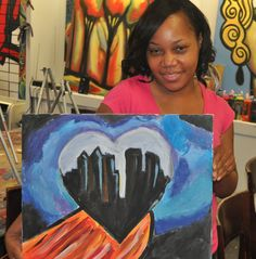 Byob Painting Parties & Painting Classes For Adults, Kids Birthday Parties & Art Camps