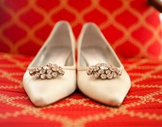 Gorgeous, stylish flats for the comfy bride.