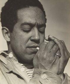 Langston Hughes by Consuelo Kanaga, Carmel 1933