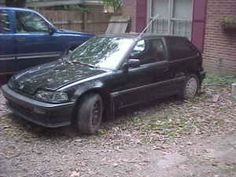 1989 Honda Civic SI Project Car--Needs Motor - $1200 (Fayette County)