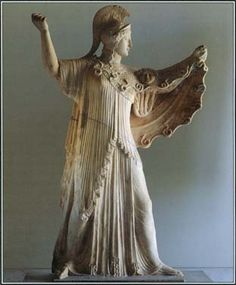 athena = womanly power