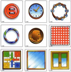 Autism Work Material: Visual perception: form-constancy