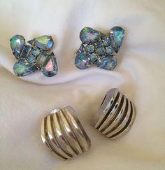 Vintage Earrings by mccoyblingandthings on Etsy, $8.75