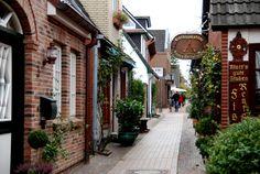 Altstadt von Wyk auf Föhr von ElkeS.
