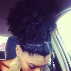 Click the image for Serenity's natural hair photos and regimen.