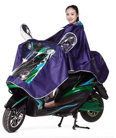 Motorcycle Waterproof Rain Coat Women Men Raincoat Scooter Cape Poncho - Hooded raincoat, water resistant and protect your body from rain. Lightweight and easy to carry, one size fits most.The kick pleat neck with one button closure. Suitable to wear when riding scooters, bikes and mobility scooters or watching your outdoor sports.    link: