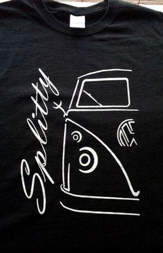 VW Volkswagen split window bus T-Shirt