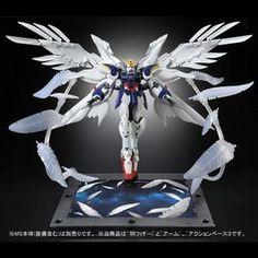Shin Kidou Senki Gundam Wing Endless Waltz - RG - Wing Gundam Zero Custom EW 'Seraphim Feather' Effect Part Set - 1/144 (Bandai)