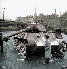 Tiger II P in Stockholm 1947