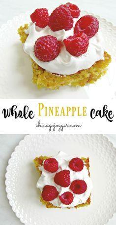 Whole Pineapple Cake