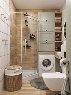 Bathroom Design Luxury, Bathroom Layout, Modern Bathroom Design, Interior Design Kitchen, Small Bathroom Interior, Bathroom Ideas, Apartment Interior, Apartment Design, Home Room Design