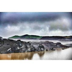 Lengua glaciar Svinafellsjokul, Islandia
