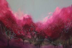 """Steph"" - painting by georgina vinsun"