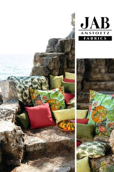 Around the world Vol. Outdoor Lounge, Outdoor Decor, Koi, Palette, Japan, Outdoor Fabric, Outdoor Furniture Sets, Relax, Around The Worlds
