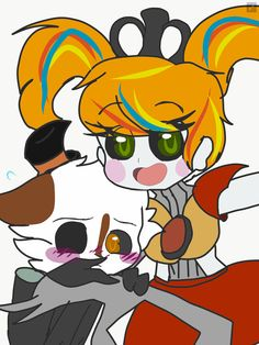 Scrap Fraby:He looks alot like Scrap Baby by on DeviantArt Sister Location Baby, Animatronic Fnaf, Fnaf Wallpapers, Circus Baby, Freddy Fazbear, Anime Fnaf, Rare Pictures, Five Nights At Freddy's, Bowser