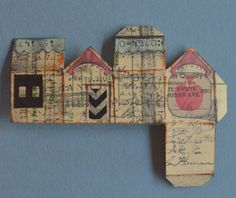 Inchie House swap ... click to see many more ... and they're only one inch high!