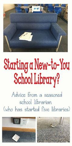 First Days of School in a New-To-You Library - Mrs. ReaderPants - - Wait…what? ReaderPants posting an article about the first days of school…in the middle of December? As we approach Winter Break, I realized I …. School Library Themes, School Library Lessons, School Library Displays, School Library Design, Library Lesson Plans, Middle School Libraries, Elementary School Library, Library Skills, Library Ideas