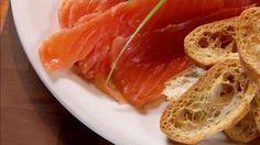 Gravlax de saumon au fenouil et à la menthe - Recettes - À la di Stasio