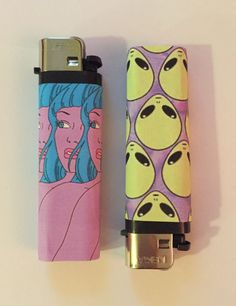 Space Head Lighter Pack from VeraCora on Etsy. Custom Lighters, Cool Lighters, Stoner Room, Stoner Girl, Cigarette Aesthetic, Puff And Pass, Pipes And Bongs, Tumblr Wallpaper, Smoking Weed
