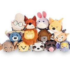 Zootopia tsums officially release http://disneytsumtsum.com/?p=4009 #disney #disneytsum #zootopia