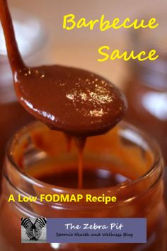 This low FODMAP recipe makes barbecue sauce a delight for your tummy and your taste buds! Homemade Barbecue Sauce, Barbecue Sauce Recipes, Homemade Bbq, Homemade Sauce, Grilling Recipes, Fodmap Diet, Fodmap Foods, Fodmap Recipes, Keto